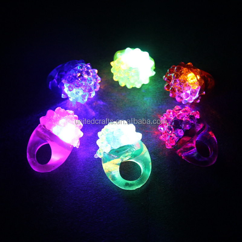 small toys for children unisex led Finger Light tiny flashing rings