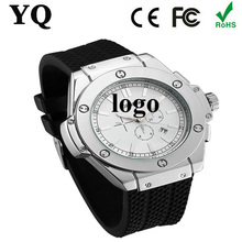 make logo double face watch miyota movement 3atm water resistance fashion stainless steel case design watch