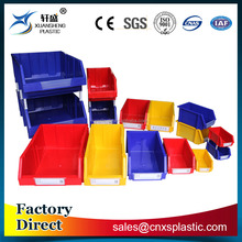 Industrial stackable combined plastic storage bins