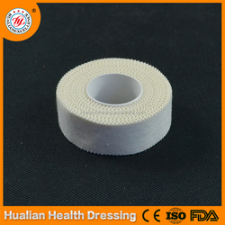 Latex free breathable zinc oxide cotton plaster for affixing IV cannula
