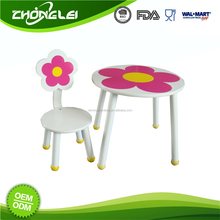 Top Class Brand New Design Promotional Price Cafe Kid Table And Chairs