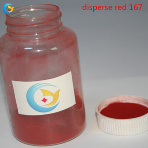 2018 Red clothing dye disperse red 167 dye for polyester textile