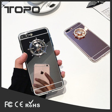 Ship Rudder Phone Case Hand Spinner Full Body Protective Soft mobile phone shell cover mirror tpu case for iphone 6 7 plus