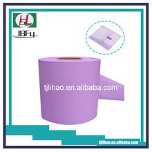 PE sanitary napkin closure pouch bag film