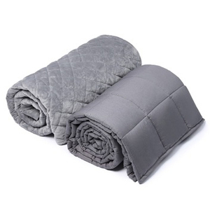 Amazon 48*72 Inch 12 Lbs Cotton Tranquility Make A Own Weighted Blanket Diy Anxiety Weighted