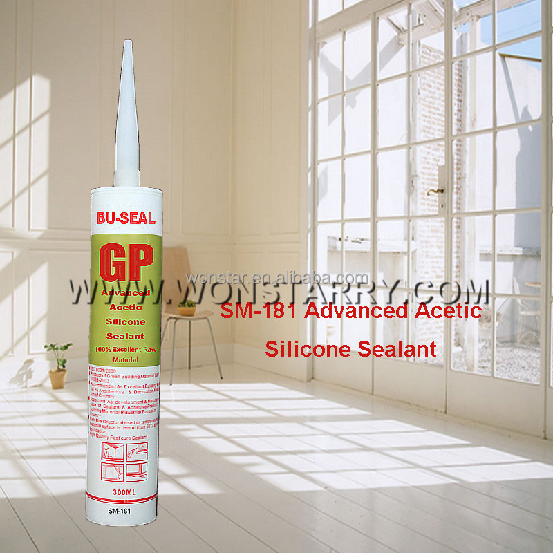 Fast dry acetic drum silicon sealant