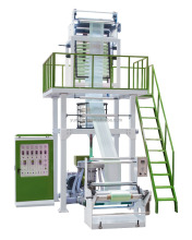 HDPE/LDPE biodegradable film blowing machine extruder
