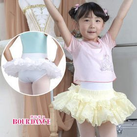 Children ballet tutu skirt with underpant