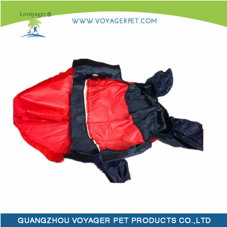 Lovoyager Multifunctional dog raincoat with hood for wholesales