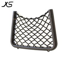 High-quality wholesale customized black elastic flame-retardant high-speed train seat back net for bullet train