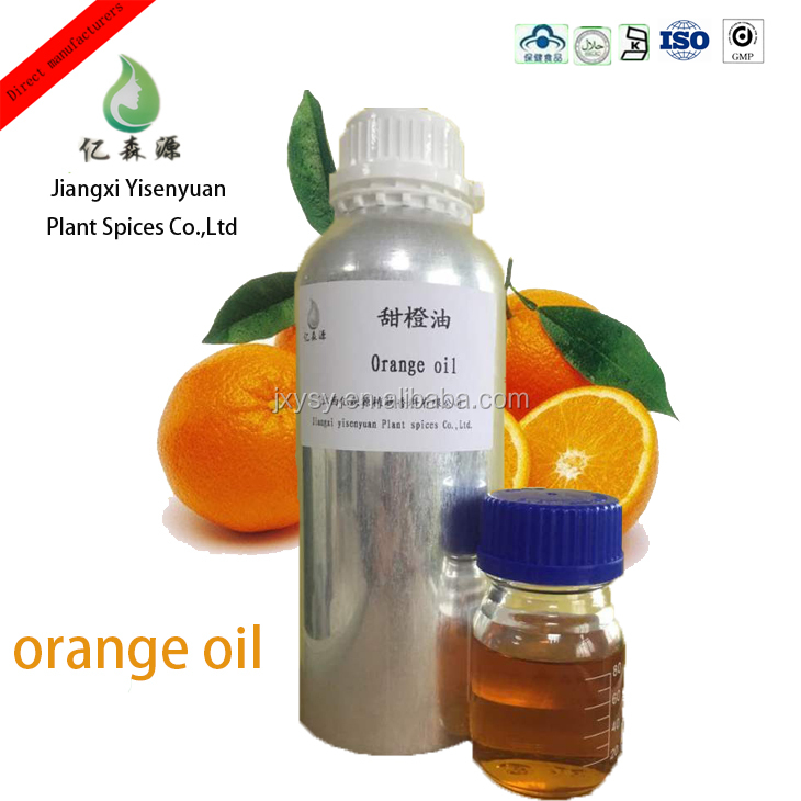 Therapeutic Grade Cold Pressed Orange Oil Flavor Concentrated Fragrance Used For Scrape Massage