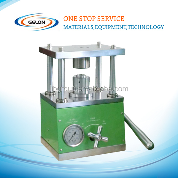 Button cell electric crimping machine/crimping and disassembling machine