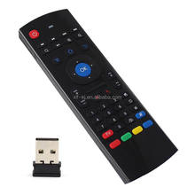 New product Fly Air Mouse remote control 2.4GHz mini Wireless Keyboard with microphone for ott tv