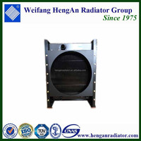 Small gas generator set radiator