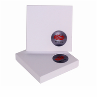 Elegant PVC Window Necklace Gift Packaging Cardboard Box with Lid