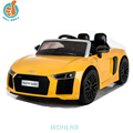 WDHLR8 Official Authorized New Power Toy Car For 2016, Audi R8 Baby Play, With Double Door Open Power Display