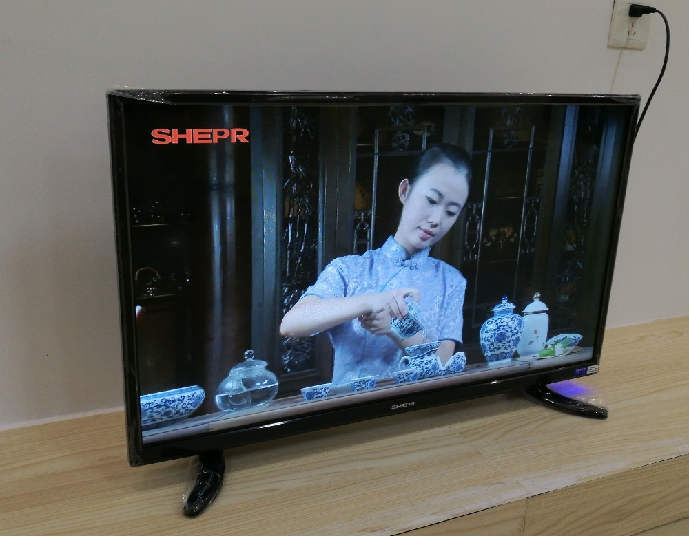 OEM Chinese Cheap Televisores 32 inch led tv Smart Satellite TV For Home