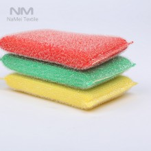 Nami Brand Green Plastic Table Cleaning Scouring Pad Non Scratch Cleaning Scourer Scrub Cloth