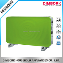 Electrical free standing convector rechargeable panel heater