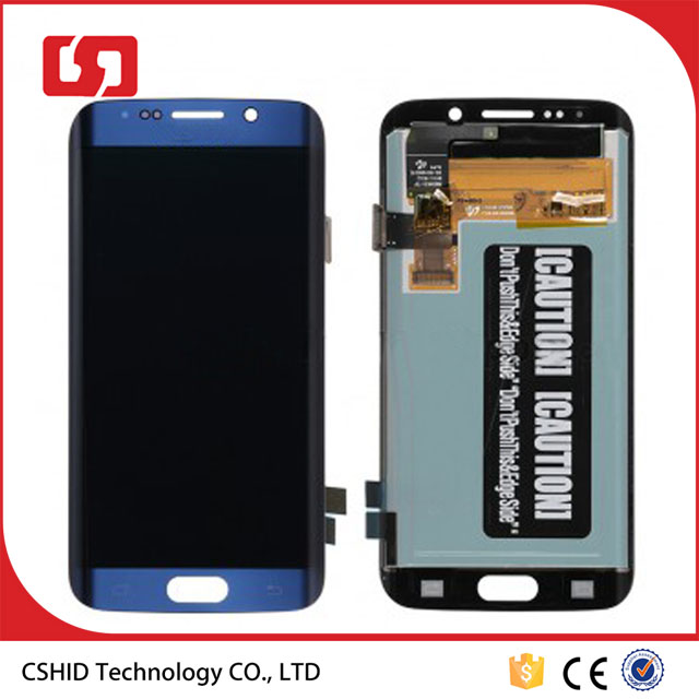 Blue For Samsung Galaxy S6 Edge G925A G925T G925V G92P LCD Display Touch Screen Digitizer