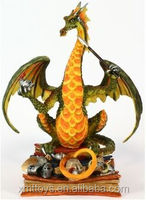 Twelfth Knight Book Wyrm Drago Statue,dragon statue