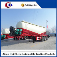 Hot Sale High Quality Used 50CBM Bulk Cement Tank Truck Trailer For Sale