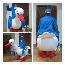 HI new landing goose inflatable costume Halloween inflatable costume customized costume for sale