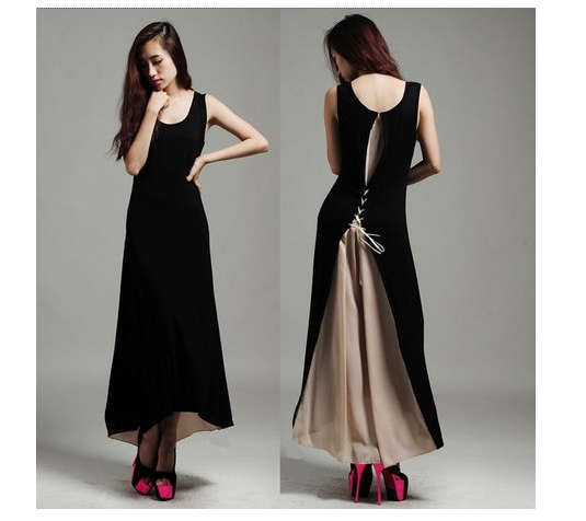 C23214A HOT-SELLING LADY FASHION ELEGANT COTTOND RESS