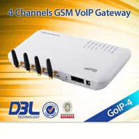 4 channels GOIP4,vouchers and voip credit