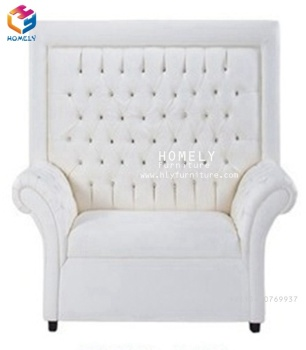 outdoor  white royal luxury garden loveseat wedding sofa set bride and groom