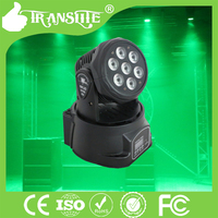 Stage Lighting Effects Moving Head Lights LED 7- 4IN 1 RGBW/A Moving Head Light Disco Stage Beam Wash LED Light