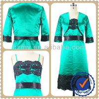 Fashion Clothing Long Sleeve Green Women Jacket For Prom Dress