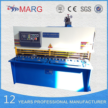 QC12Y/K hydraulic sheet metal cutting machine, for cutting 4mm thickness 1600 mm length MS plate shearing machine