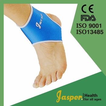 High Elastic Breathable Neoprene Fabric Ankle Support for Sprain