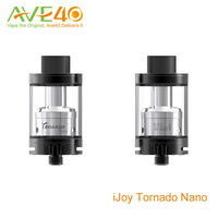 2016 Ave40 wholesale iJoy RDTA Color Change with Temp iJOY Tornado Nano