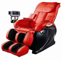 Red Flexible Massage Chair For Body Massage