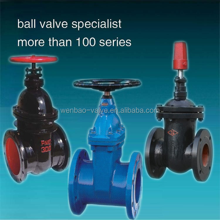 Ductile/ Cast Iron Gate Valve Non-Rising Stem Resilient Seated Metal Seated Gate Valves Price