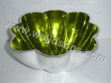 Metal Aluminium Decorative Fruit Bowl
