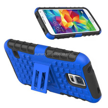 Holster Kickstand Combo Cover Case For Samsung S5,cell phone case for samsung galaxy s5 case kickstand