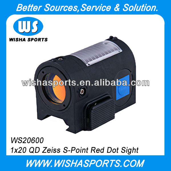 1x20 QD Zeiss Airsoft Tactical Red Dot Sight