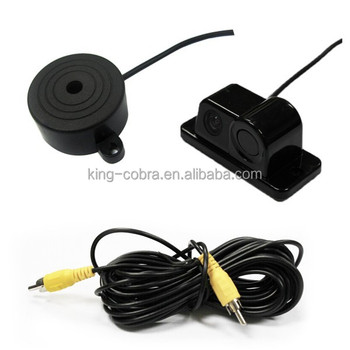 Super convenient advanced car reverse parking sensor with camera