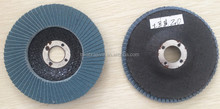 Zinc abrasive cloth flap disc made in China
