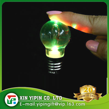 Mini Keyring Torch 7 Color Changing LED Light Lamp Bulb Keychain Toy Gift