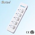 Hot selling surge protector outlet multiple outlets high quality surge protector power strip