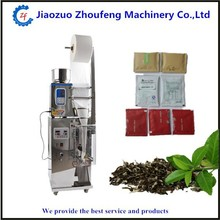 High quality commercial used preservative tea bag pouch packing machine price