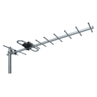 Long log periodic antenna HD-210 with UHF reception 470-862MHz