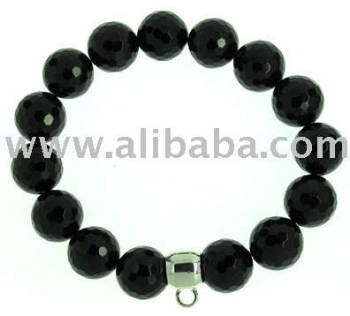 925 Sterling silver stone bracelet bead wholesale price