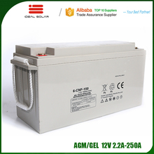 Ideal New Energy batteries 12v 12v/2a 20ah 22ah 100ah 150ah 200ah 250ah agm gel lead acid solar rechargeable battery pack