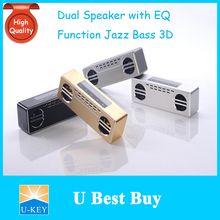 U-KEY Made in China 600T Supper Bass Subwoofer Bluetooth Speaker/2*5W Speaker Unit /Automatic Connect