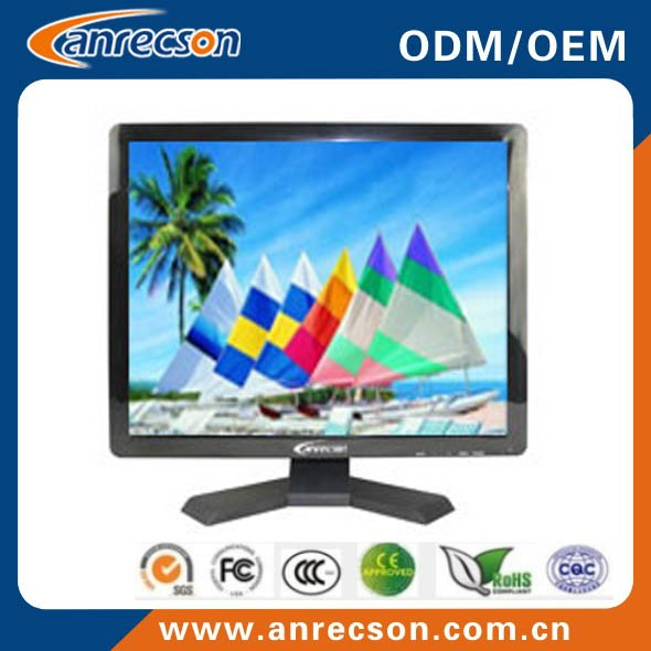 17 inch TFT LCD 1280*1024 monitor and high brightness